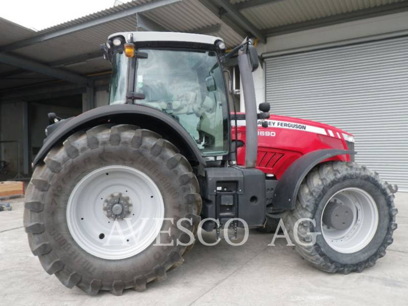 MASSEY FERGUSON TRACTEURS AGRICOLES 8690 DYNA VT equipment  photo 3