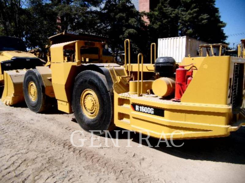 CATERPILLAR UNDERGROUND MINING LOADER R1600G equipment  photo 3