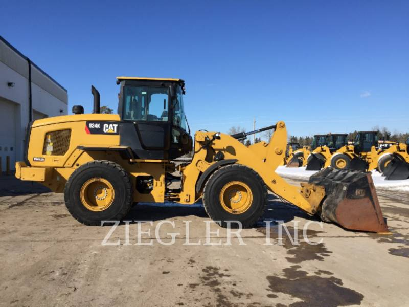 CATERPILLAR WHEEL LOADERS/INTEGRATED TOOLCARRIERS 924KHL equipment  photo 2