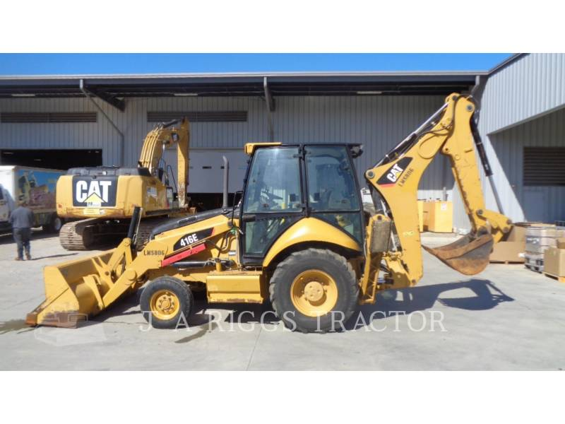 CATERPILLAR BACKHOE LOADERS 416E 2A equipment  photo 2