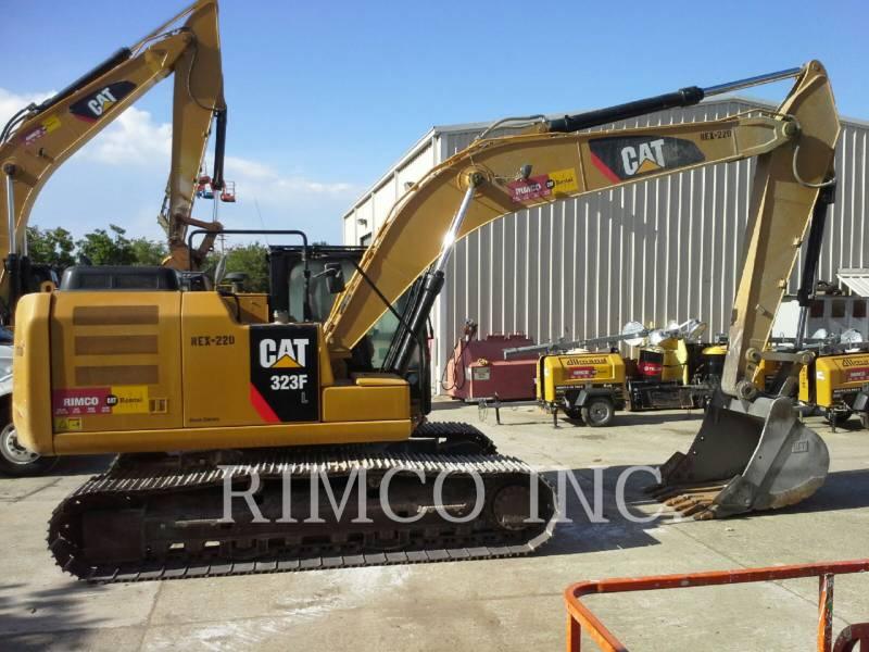 CATERPILLAR TRACK EXCAVATORS 323 F L equipment  photo 1