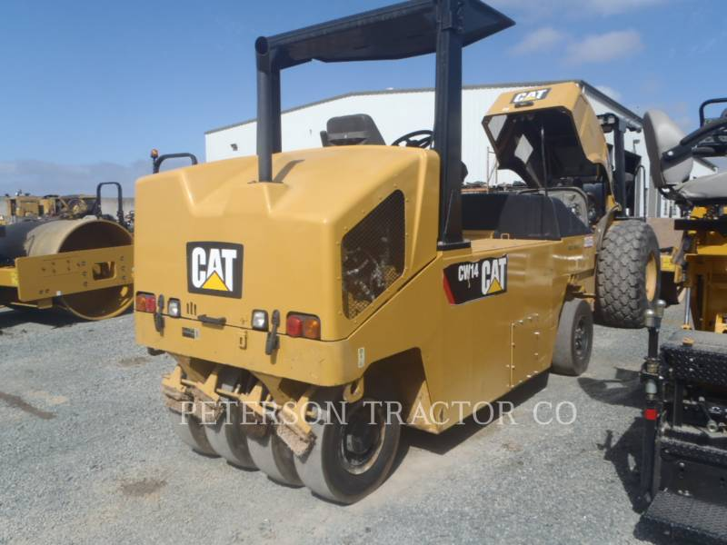 CATERPILLAR PNEUMATIC TIRED COMPACTORS CW14 equipment  photo 3