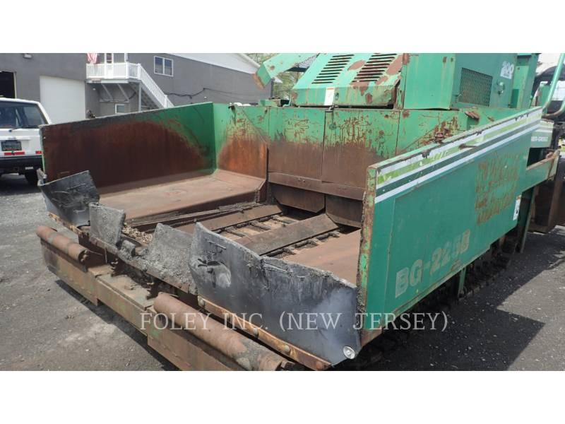 BARBER GREENE ASPHALT PAVERS BG225B equipment  photo 18