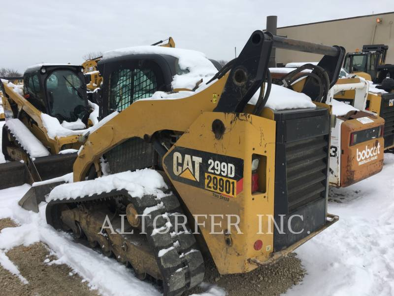CATERPILLAR CHARGEURS COMPACTS RIGIDES 299D equipment  photo 2