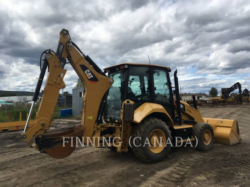 CATERPILLAR BAGGERLADER 420F2ST equipment  photo 4
