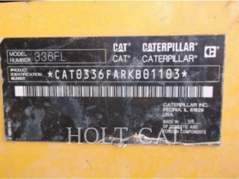 CATERPILLAR KETTEN-HYDRAULIKBAGGER 336FL equipment  photo 5