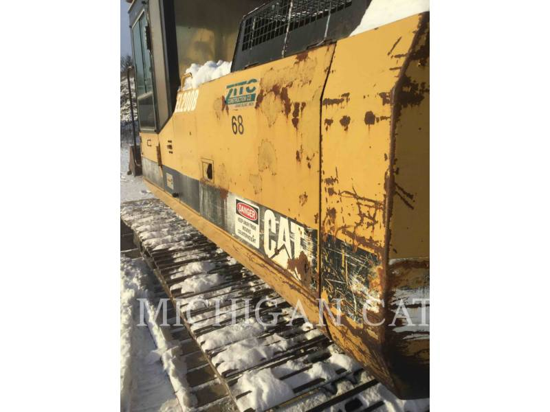 CATERPILLAR KETTEN-HYDRAULIKBAGGER E200BL equipment  photo 22
