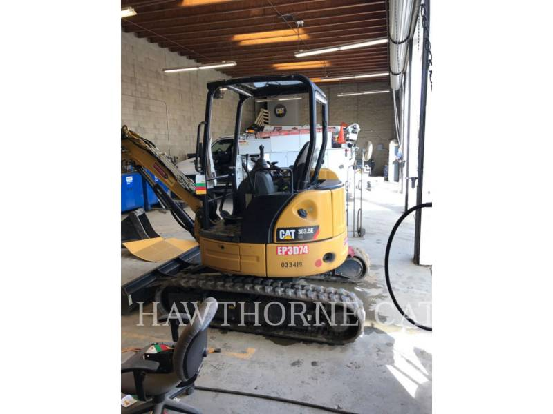 CATERPILLAR TRACK EXCAVATORS 303.5E TAG equipment  photo 6