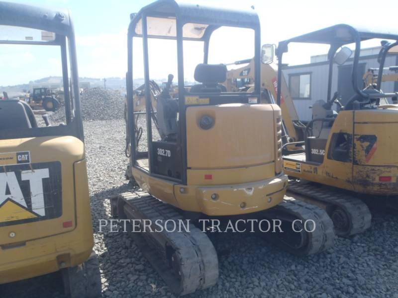 CATERPILLAR TRACK EXCAVATORS 302.7D equipment  photo 4