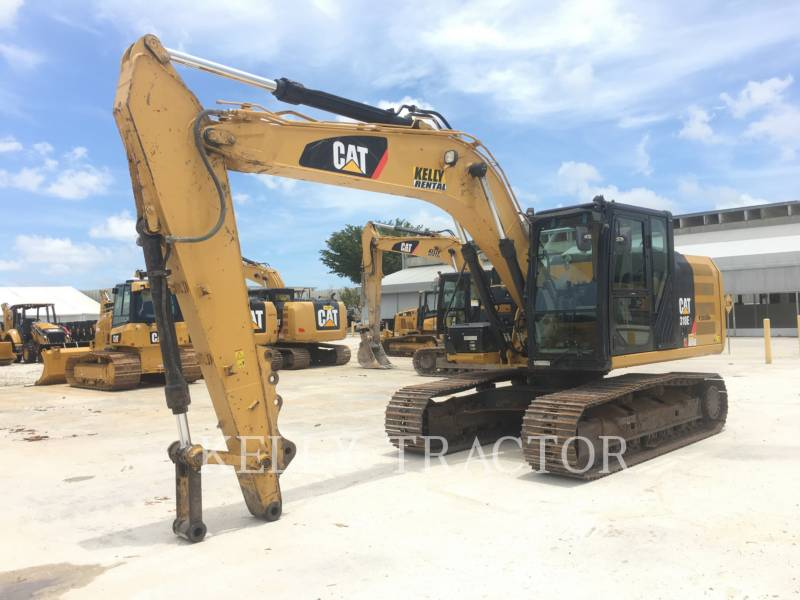 CATERPILLAR TRACK EXCAVATORS 318EL equipment  photo 6