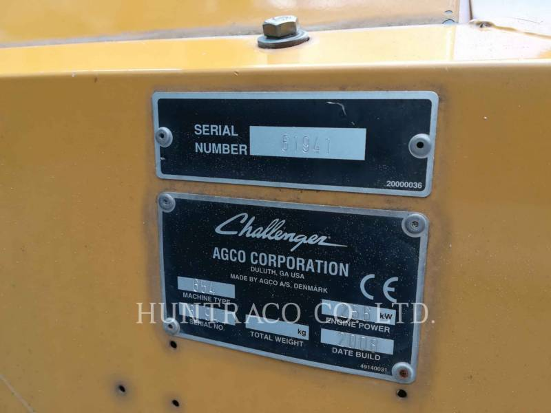 CHALLENGER コンバイン 654 equipment  photo 11
