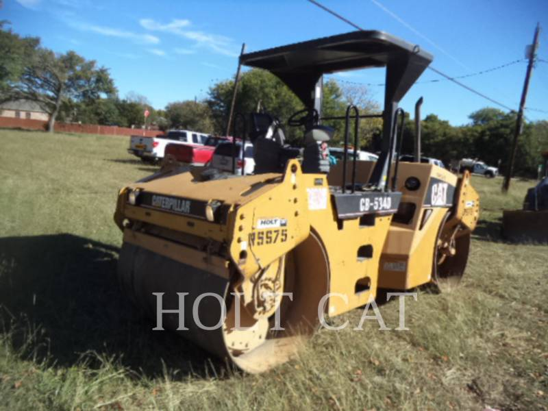 CATERPILLAR TAMBOR DOBLE VIBRATORIO ASFALTO CB-534D equipment  photo 2