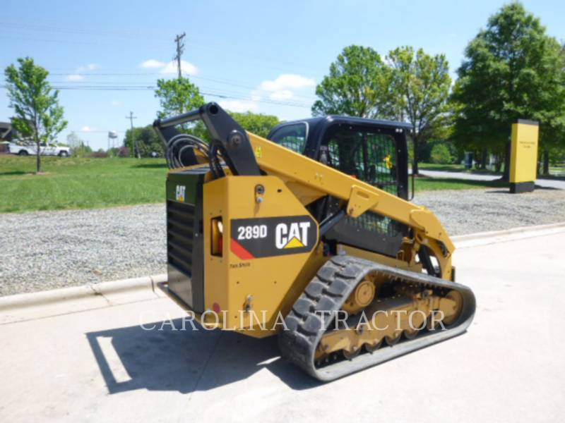 CATERPILLAR TRACK LOADERS 289D CB equipment  photo 2