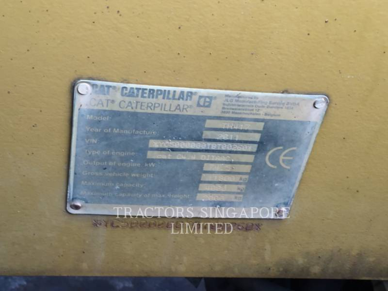 CATERPILLAR TELESKOPSTAPLER TH417 equipment  photo 12
