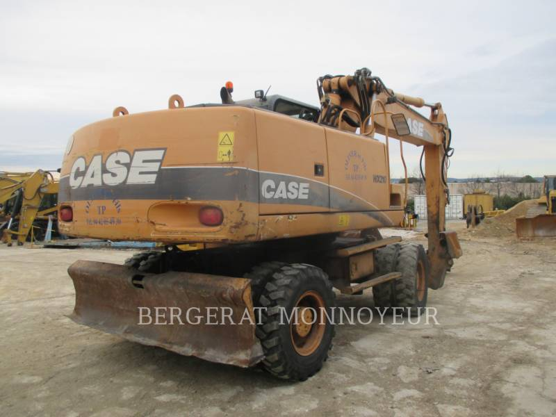 CASE PELLES SUR PNEUS WX210 equipment  photo 4