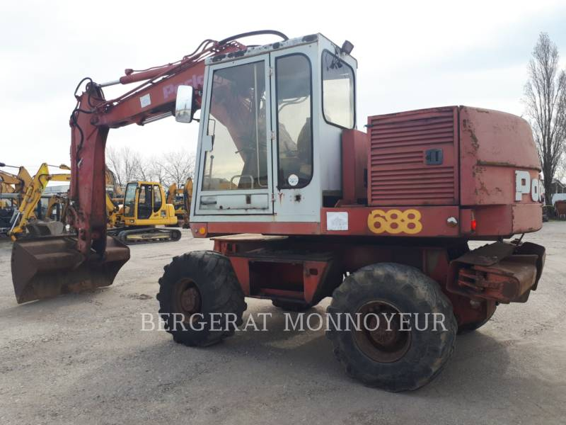 POCLAIN WHEEL EXCAVATORS P61 equipment  photo 2