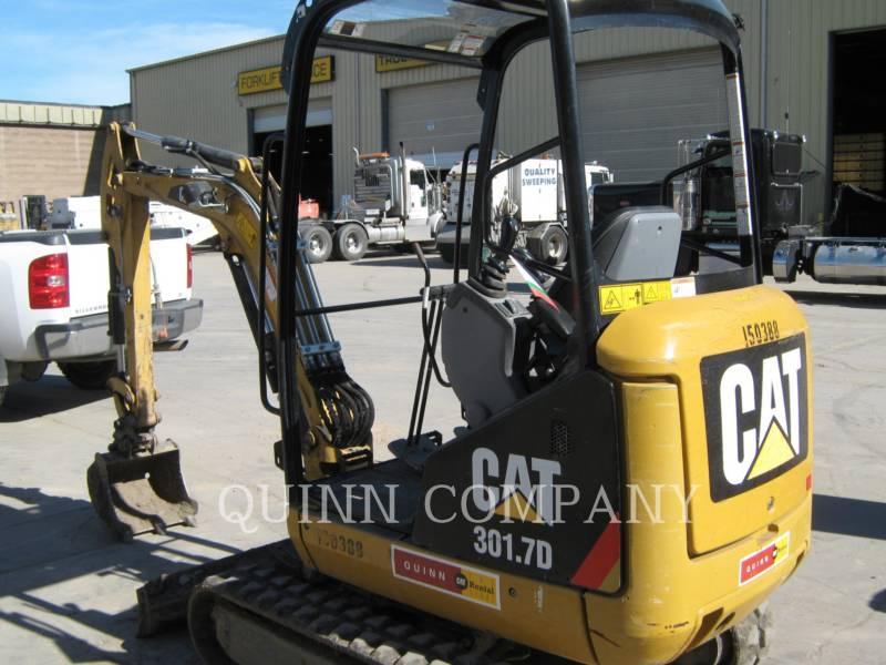 CATERPILLAR トラック油圧ショベル 301.7D equipment  photo 3