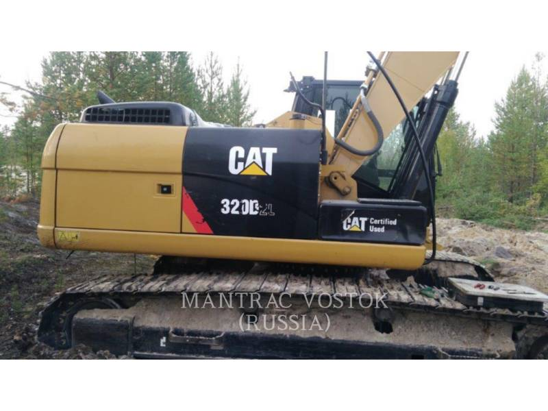 CATERPILLAR KOPARKI GĄSIENICOWE 320 D 2 L equipment  photo 1