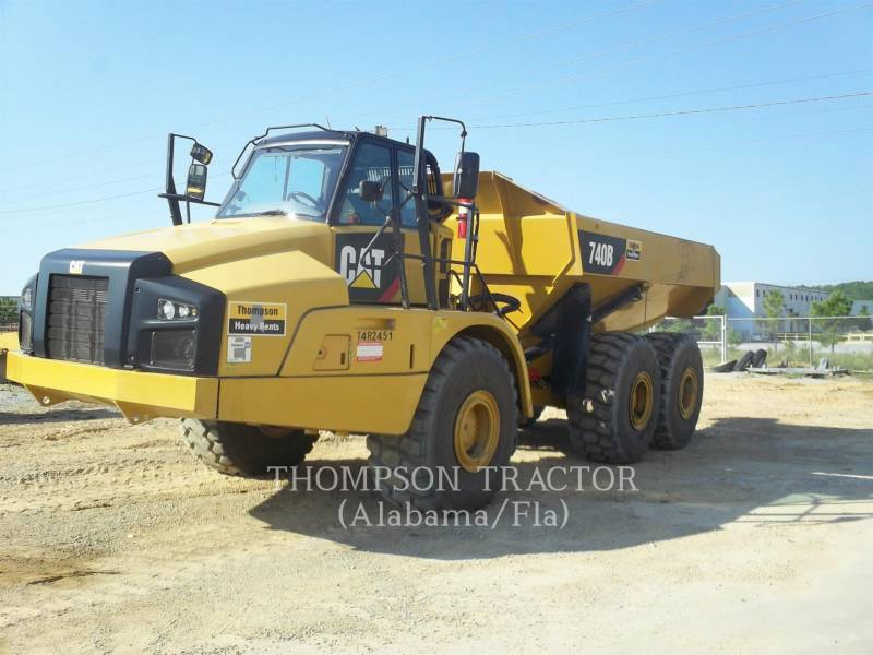 CATERPILLAR CAMIONES ARTICULADOS 740B TGATE equipment  photo 1