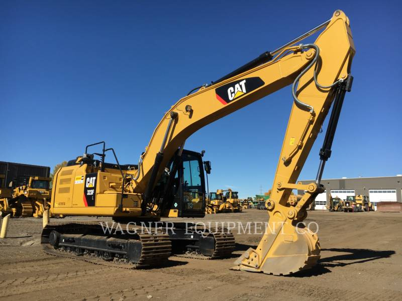 CATERPILLAR TRACK EXCAVATORS 323FL TC equipment  photo 1