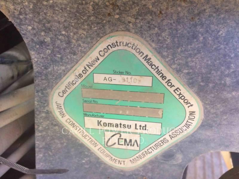 KOMATSU MOTOR GRADERS GD 555-3 equipment  photo 3