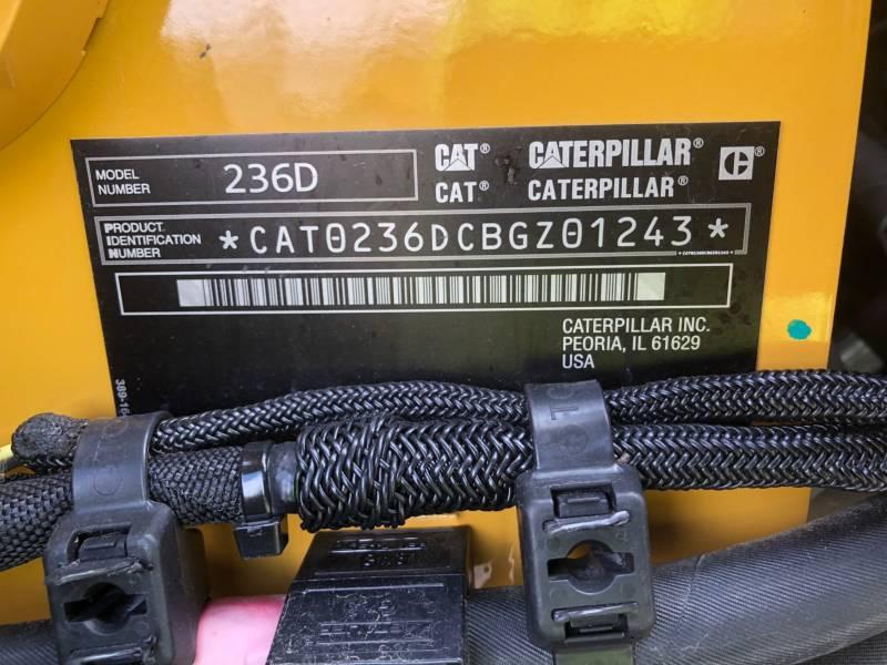 CATERPILLAR MINICARGADORAS 236D equipment  photo 24