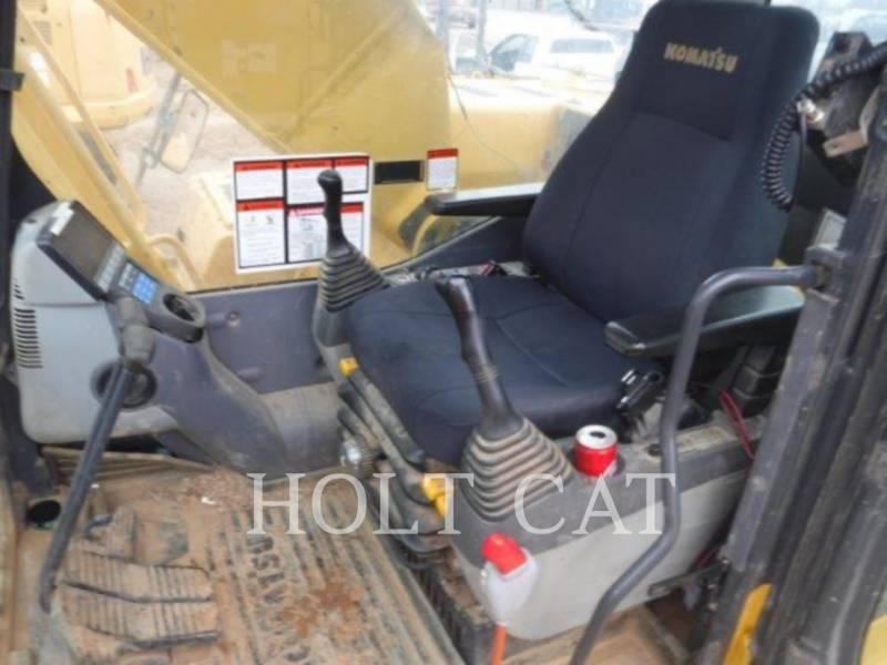 KOMATSU KETTEN-HYDRAULIKBAGGER PC 200 LC-8 equipment  photo 7