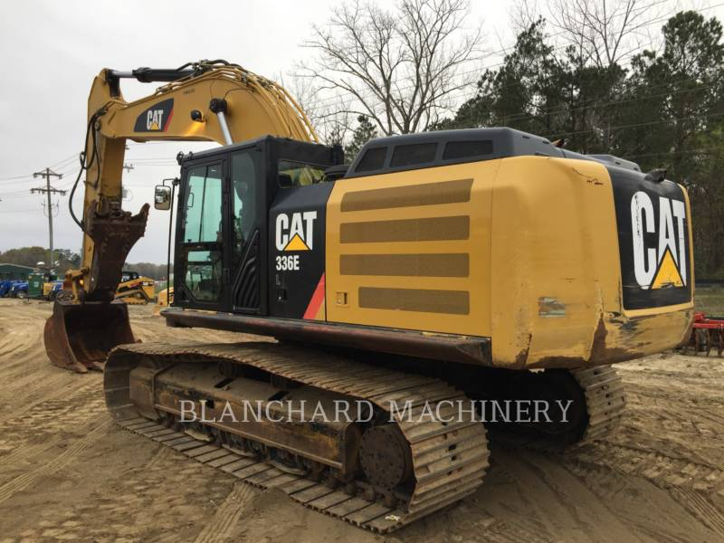 CATERPILLAR KETTEN-HYDRAULIKBAGGER 336EL equipment  photo 5