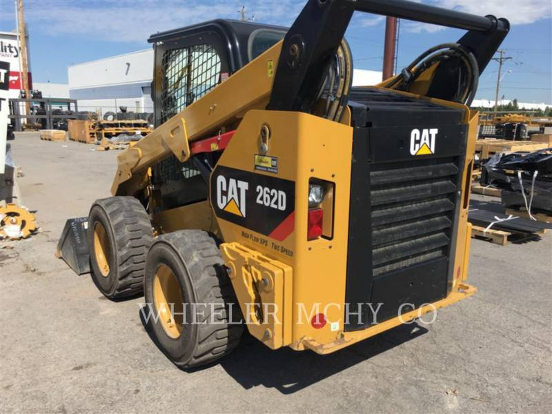 CATERPILLAR KOMPAKTLADER 262D C3HF2 equipment  photo 5