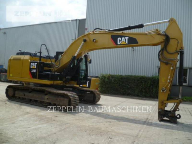 CATERPILLAR PELLES SUR CHAINES 323EL equipment  photo 2