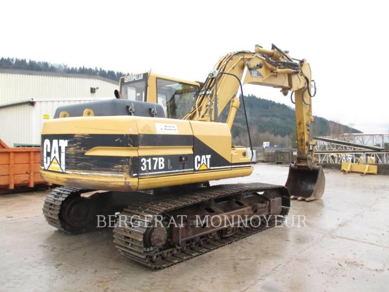 CATERPILLAR PELLES SUR CHAINES 317B equipment  photo 2