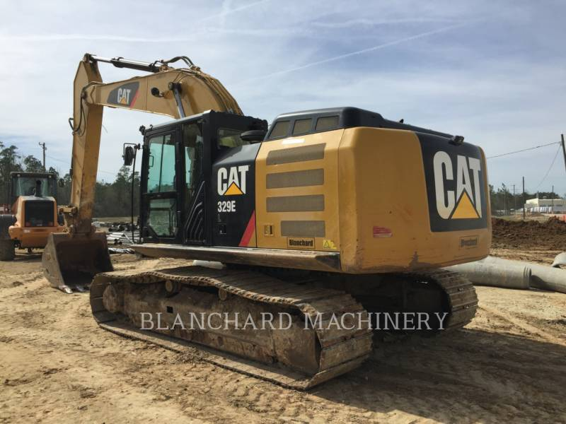CATERPILLAR TRACK EXCAVATORS 329E equipment  photo 5