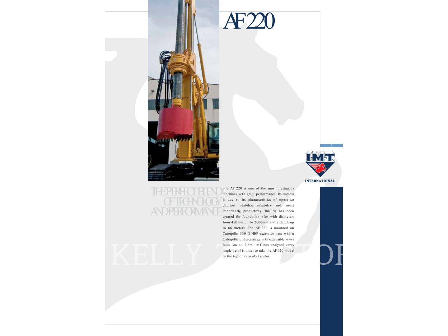 Detail photo of 2007 IMT AF220 from Construction Equipment Guide