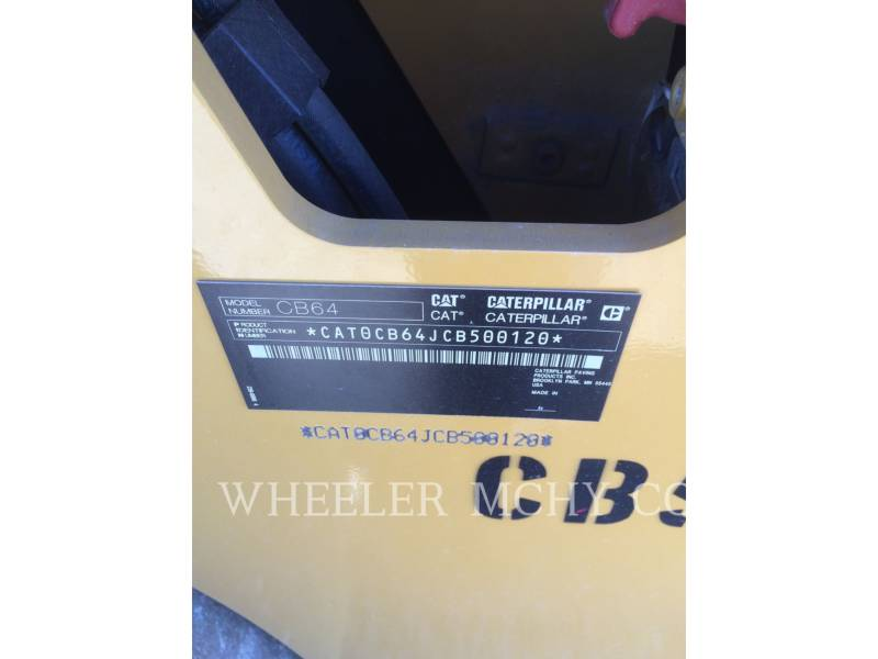 CATERPILLAR FINISSEURS CB64 equipment  photo 2