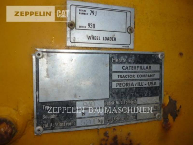 CATERPILLAR CHARGEURS SUR PNEUS/CHARGEURS INDUSTRIELS 930 equipment  photo 2