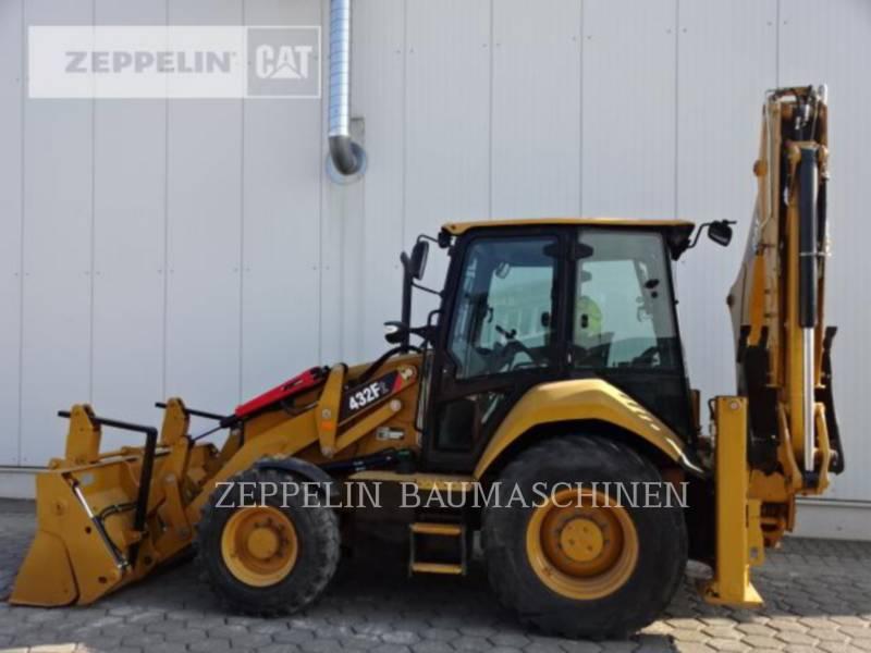 CATERPILLAR KOPARKO-ŁADOWARKI 432F equipment  photo 6