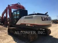LINK-BELT CONSTRUCTION TRACK EXCAVATORS 210X3 equipment  photo 6
