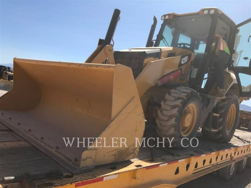 CATERPILLAR BACKHOE LOADERS 420F2 E equipment  photo 1