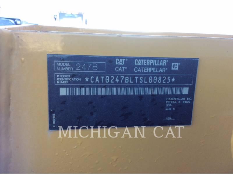 CATERPILLAR MULTI TERRAIN LOADERS 247B3 AQ equipment  photo 5