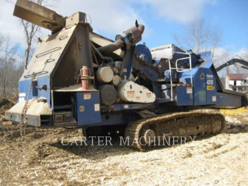 PETERSON CHIPPER, HORIZONTAL PET 4310 equipment  photo 2