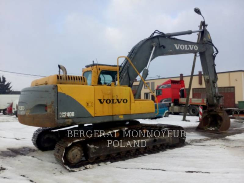 VOLVO KETTEN-HYDRAULIKBAGGER EC240B NLC equipment  photo 4