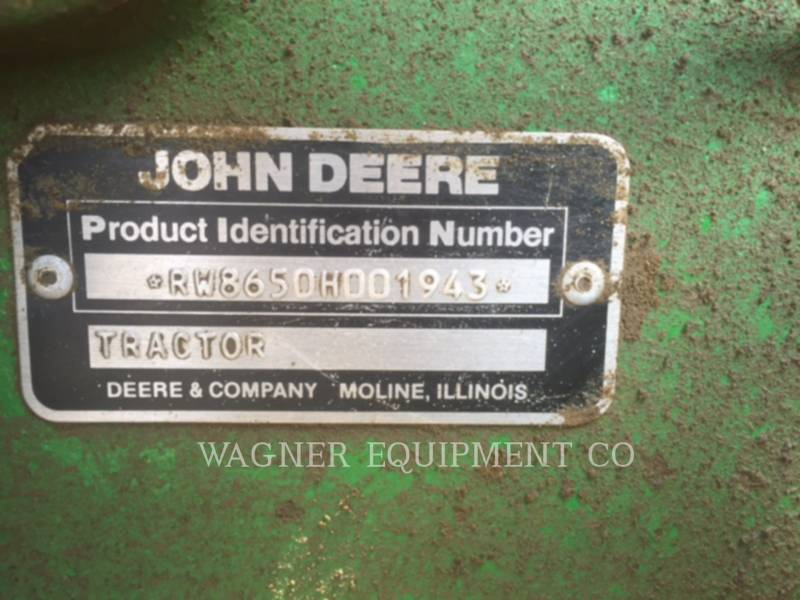 JOHN DEERE AG TRACTORS 8650 equipment  photo 12