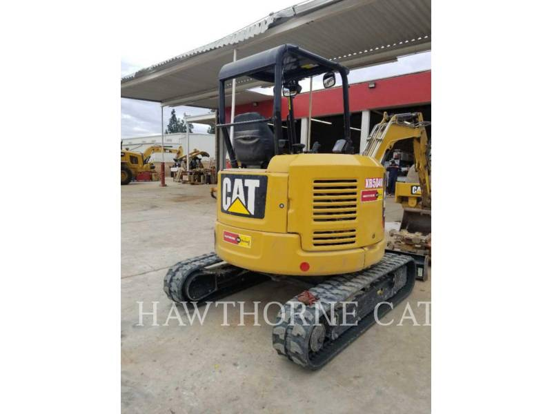 CATERPILLAR TRACK EXCAVATORS 303.5E2CR equipment  photo 3