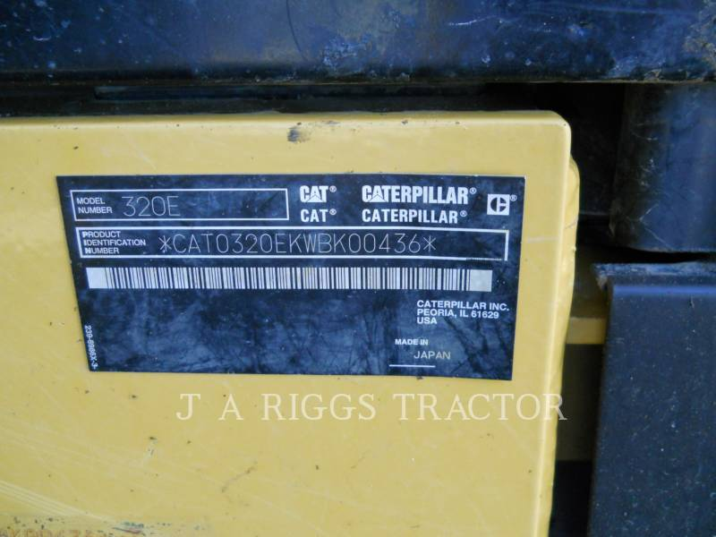 CATERPILLAR EXCAVADORAS DE CADENAS 320E 9TC equipment  photo 12
