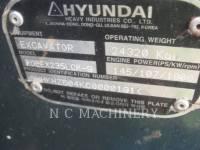 HYUNDAI TRACK EXCAVATORS 235LCR-9 equipment  photo 5