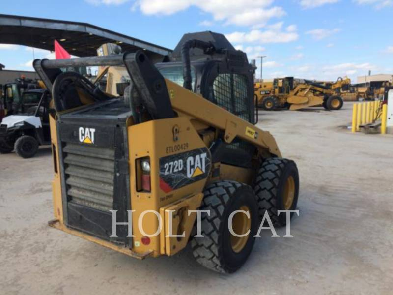 CATERPILLAR SKID STEER LOADERS 272D XHP equipment  photo 3