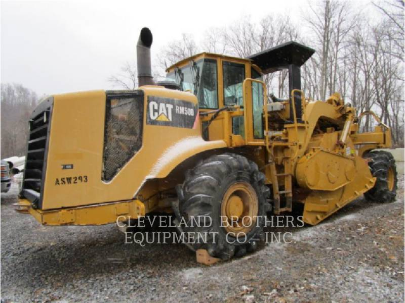 CATERPILLAR REPANDEUR DE BITUME RM500 equipment  photo 4