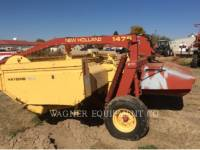 NEW HOLLAND LTD. AG HAY EQUIPMENT 1475 equipment  photo 1