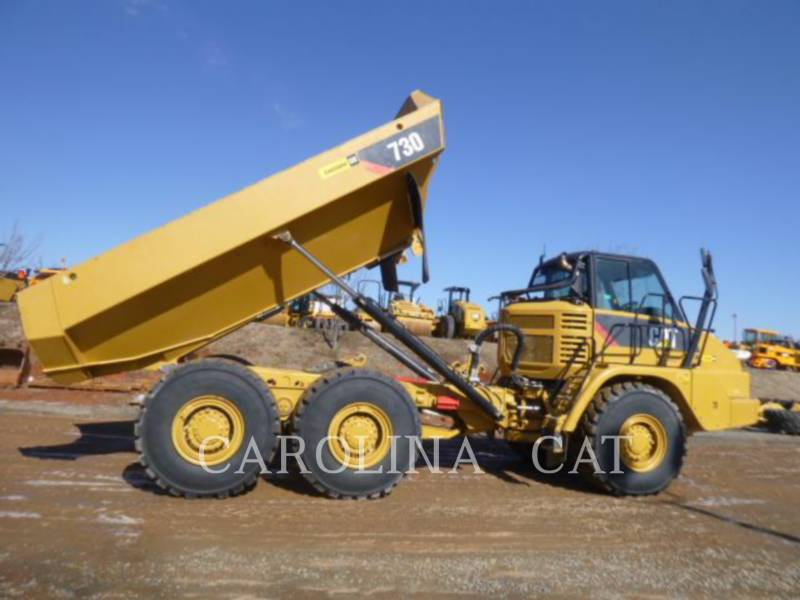 CATERPILLAR ARTICULATED TRUCKS 730 TG equipment  photo 1