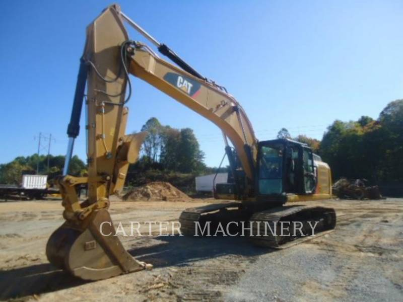 CATERPILLAR TRACK EXCAVATORS 329EL CFTS equipment  photo 1